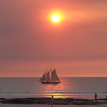 Sail the sunset by RedRover