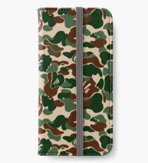 BAPE OG Green Camo iPhone Wallet/Case/Skin