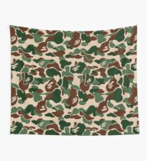 BAPE OG Green Camo Wall Tapestry
