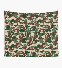 BAPE OG Green Camo Wall Tapestry