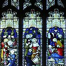 Window of St Mary's, Beverley Yorkshire by Bev Pascoe