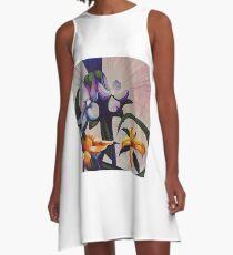 Flower Light A-Line Dress