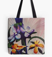 Flower Light Tote Bag