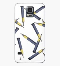 Pencils over Bullets Case/Skin for Samsung Galaxy