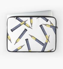 Pencils over Bullets Laptop Sleeve
