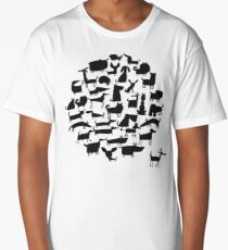 Cute dogs collection Long T-Shirt