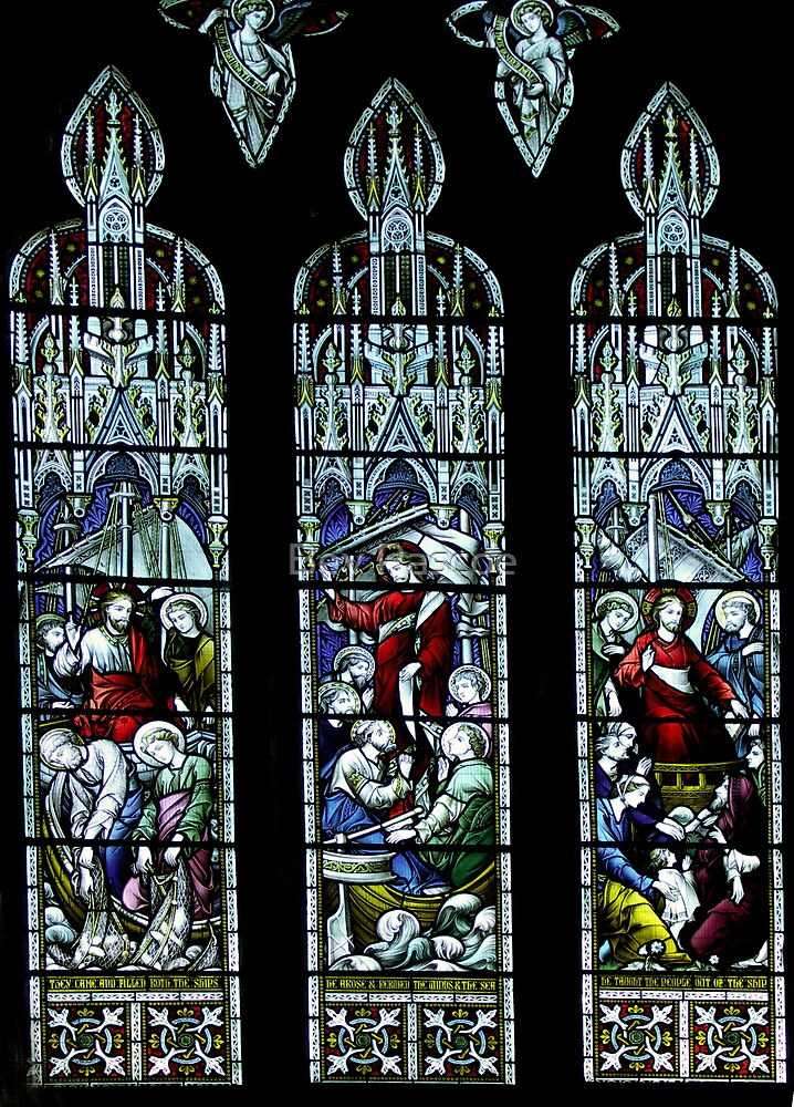 St Mary's Church, Beverley Yorkshire, stained glass window by Bev Pascoe