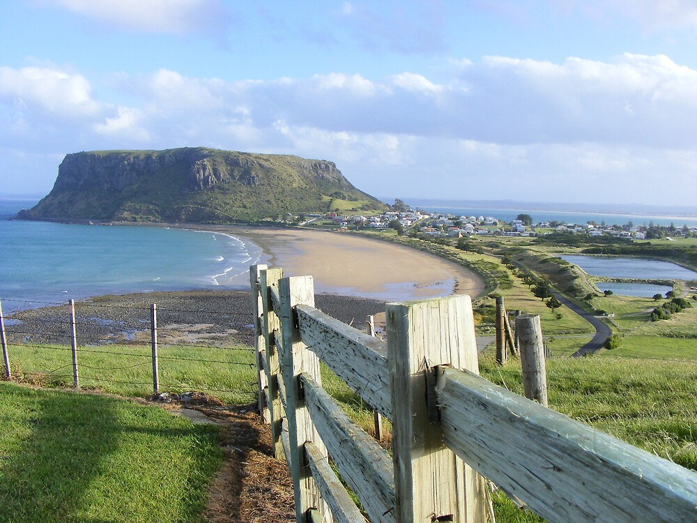 Stanley and the NUT - Tasmania - viewed from near Highfield House by gaylene