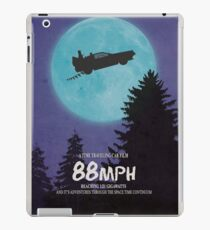 88mph (ET Movie Poster Parody) iPad Case/Skin