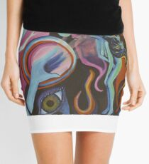 Mirror Spirit in the Wind Mini Skirt