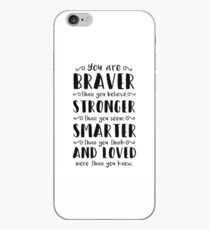 You Are Braver Than You Believe Winnie The Pooh iPhone Case