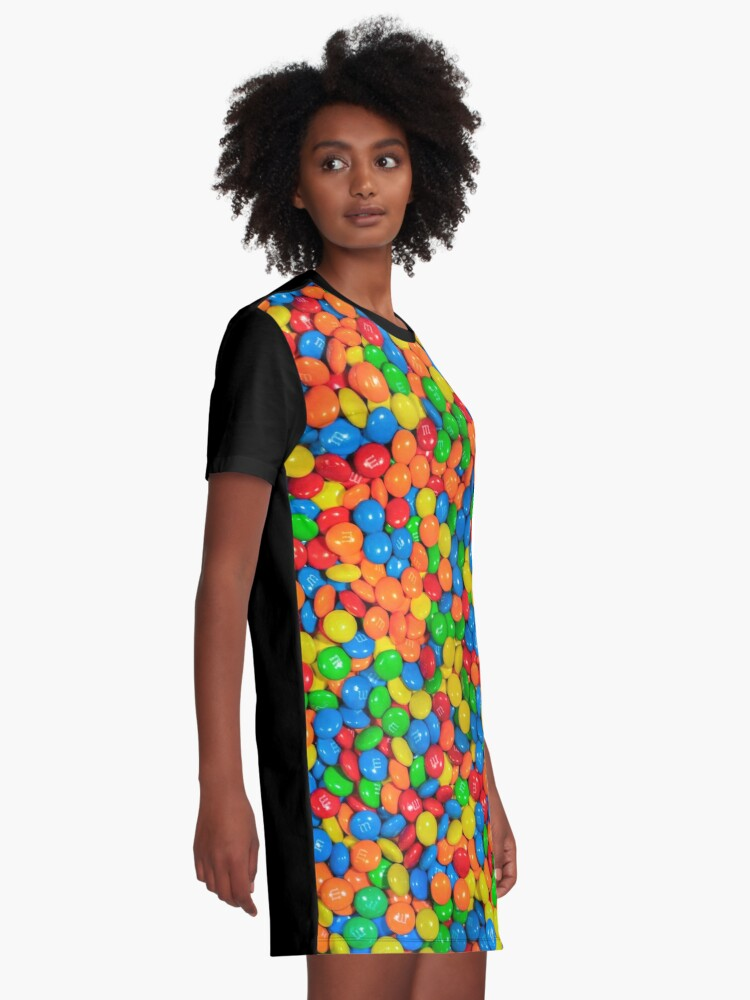 Alternate view of m&m Graphic T-Shirt Dress