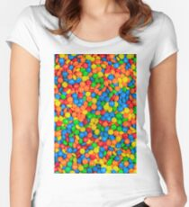 m&m Women's Fitted Scoop T-Shirt