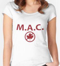 Millennials Against Canada Women's Fitted Scoop T-Shirt