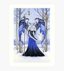 The Winter Guardian Art Print