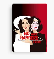 No wire hangers ever! Canvas Print