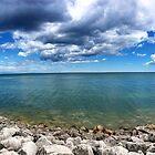 Lake Michigan by -jncarter