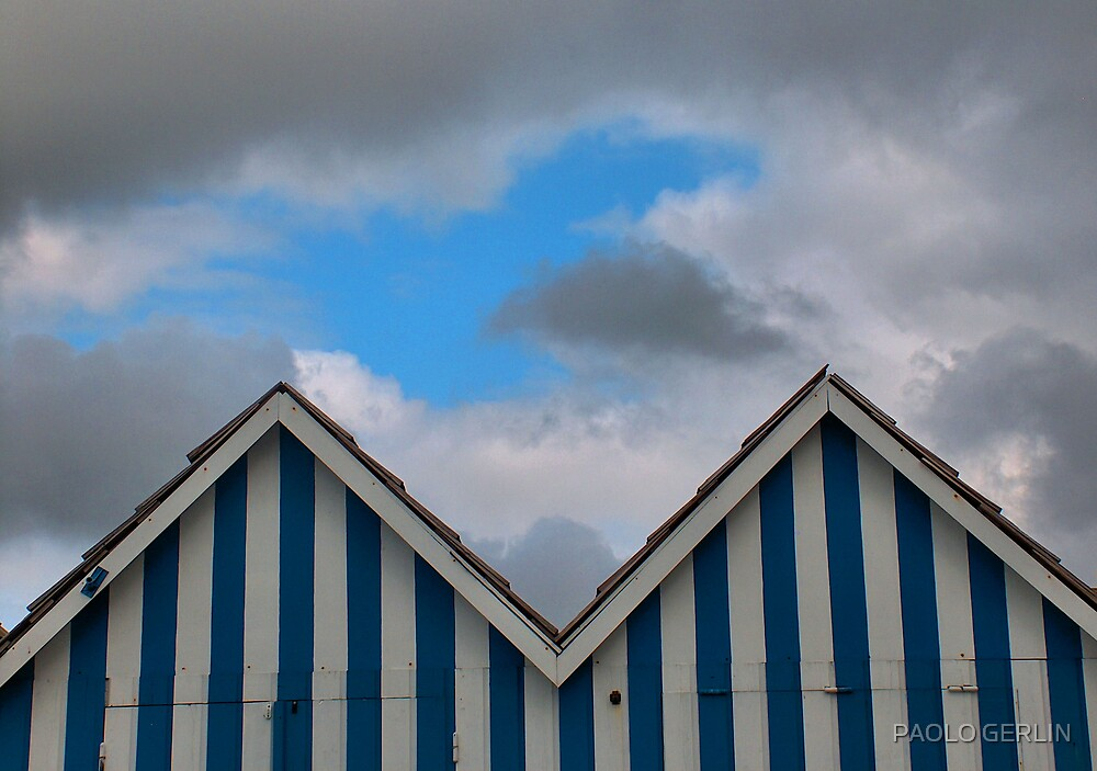 Blue and blue by PAOLO GERLIN
