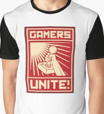 GAMERS UNITE Graphic T-Shirt