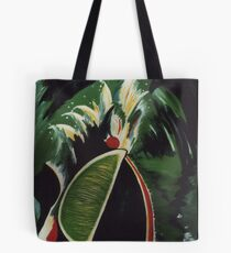 Lifting Lime Tote Bag