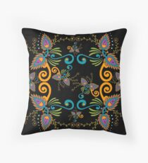 57 decoration colors Throw Pillow
