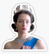 The Queen - Claire Foy Sticker