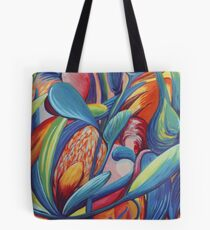 Symphony in Flowers Tote Bag