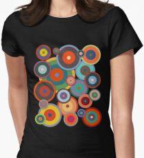 Kandinsky # 3 Tailliertes T-Shirt für Frauen