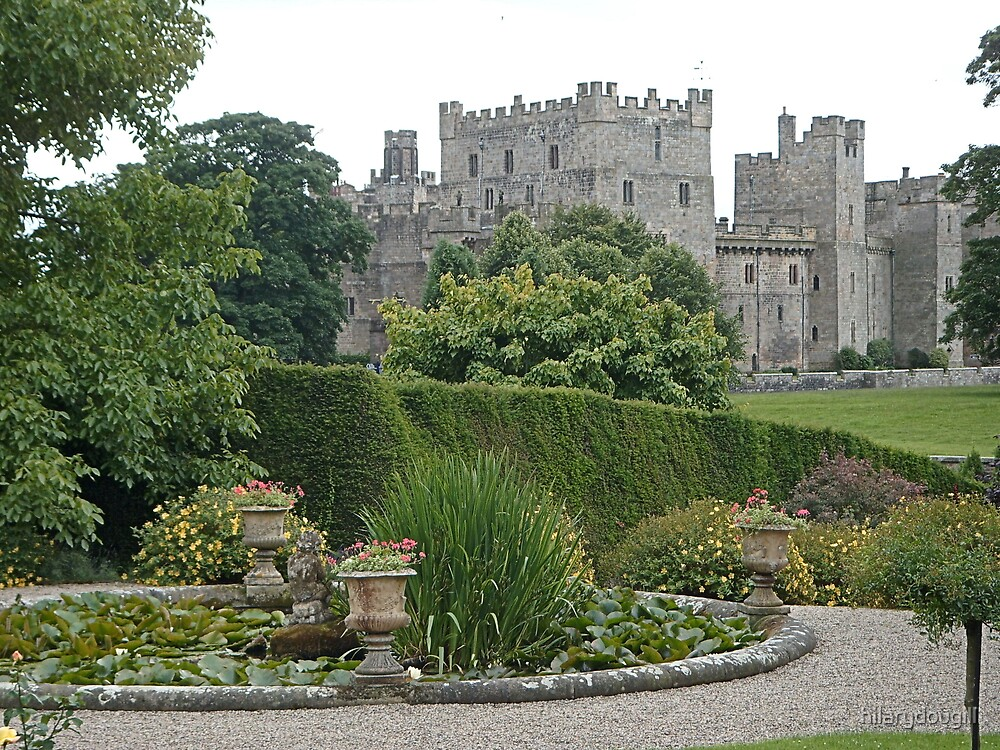 Raby Castle from the gardens by hilarydougill