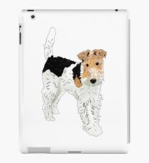 Wire Hair Fox Terrier iPad Case/Skin