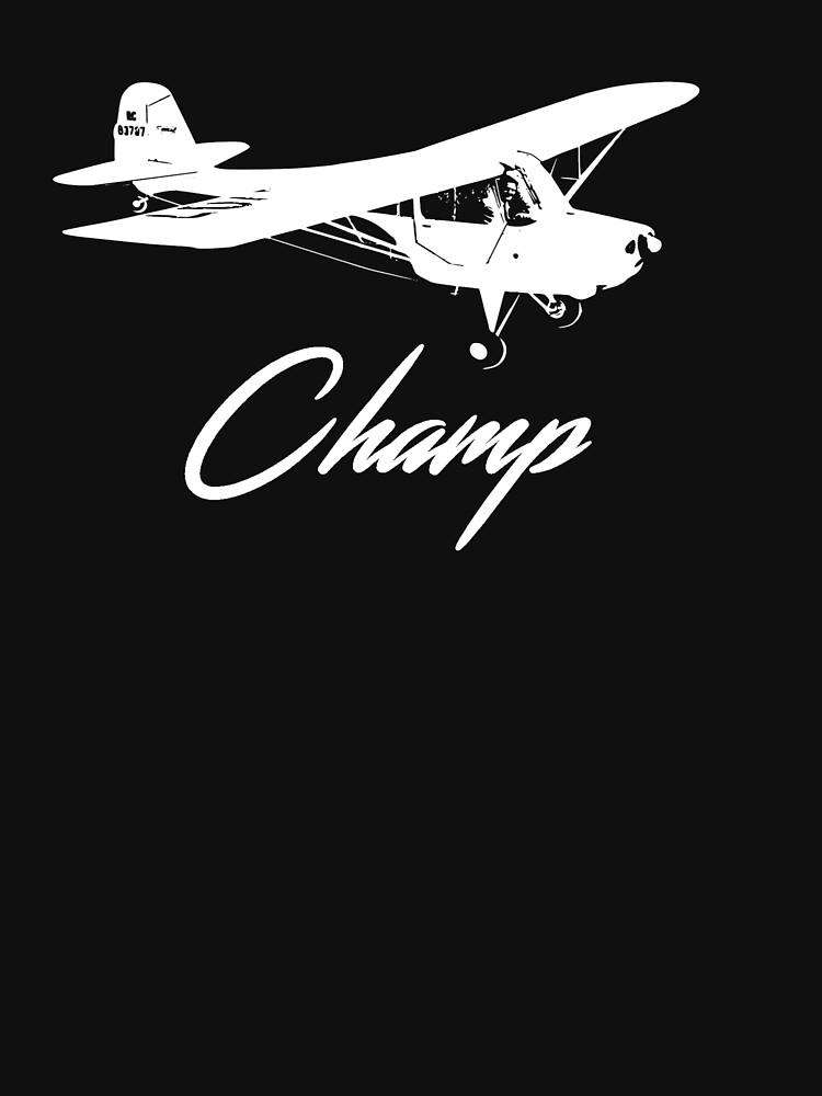 Aeronca 7AC Champ Logo Airplane by cranha