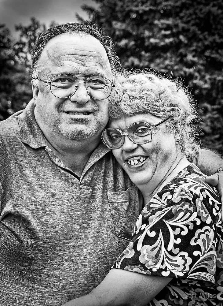Butch and Joanne. by Jeff  Wiles