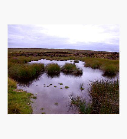 Moorland Tarn Photographic Print