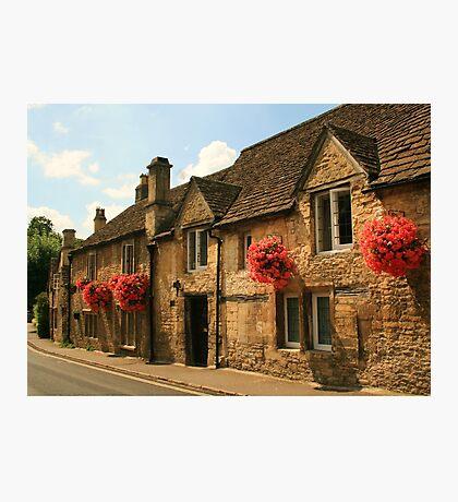 Castle Combe Cottages Photographic Print