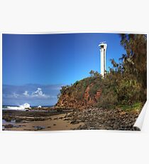 Point Cartwright Lighthouse.-6003-HDR Poster