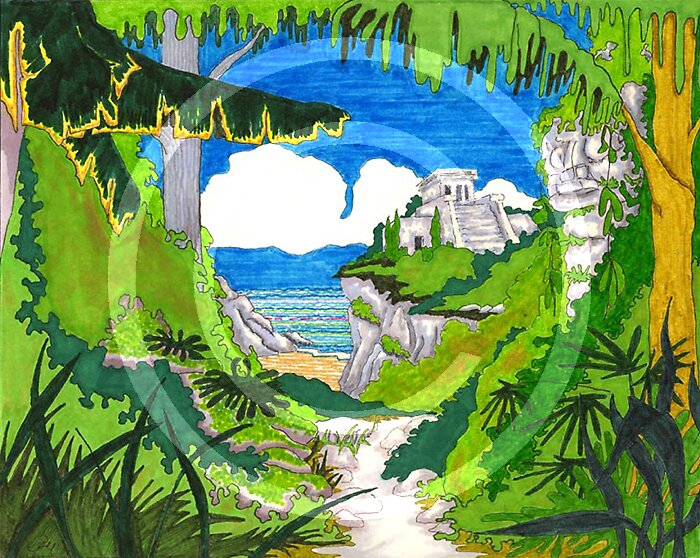 Tulum by ozyink