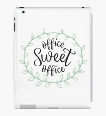 Office Sweet Office iPad Case/Skin