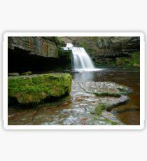 West Burton Waterfall Sticker