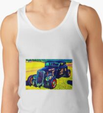 Custom Vintage Hot Rod Tank Top