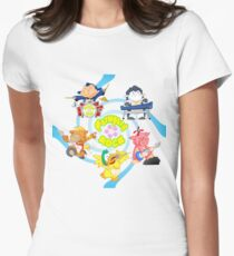 Farmyard Rock - Swirly Womens Fitted T-Shirt