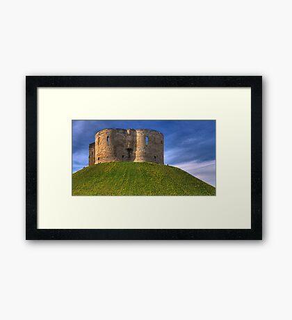 Castle Mound: City of York UK Framed Print