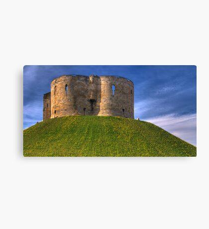 Castle Mound: City of York UK Canvas Print