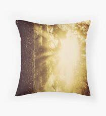 Early Morning II Throw Pillow