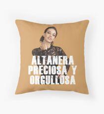 Ana War Throw Pillow