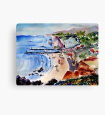 Corona Del Mar Canvas Print
