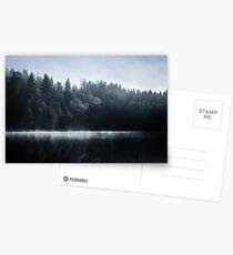 Misty Winter Morning Postcards