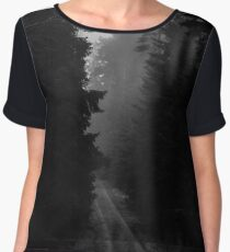 Not The Road Home Chiffon Top