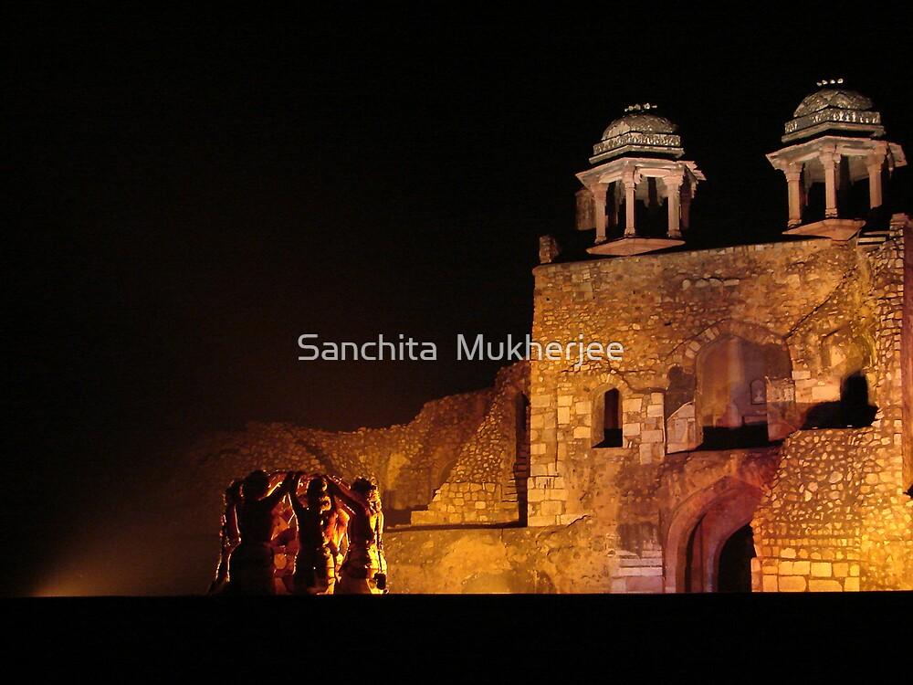 odissi dance - the journey begins by Sanchita  Mukherjee