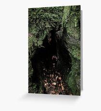 Cave Dweller Greeting Card