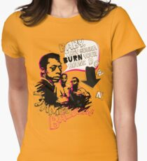 New James Baldwin (now with more 'tude) Womens Fitted T-Shirt